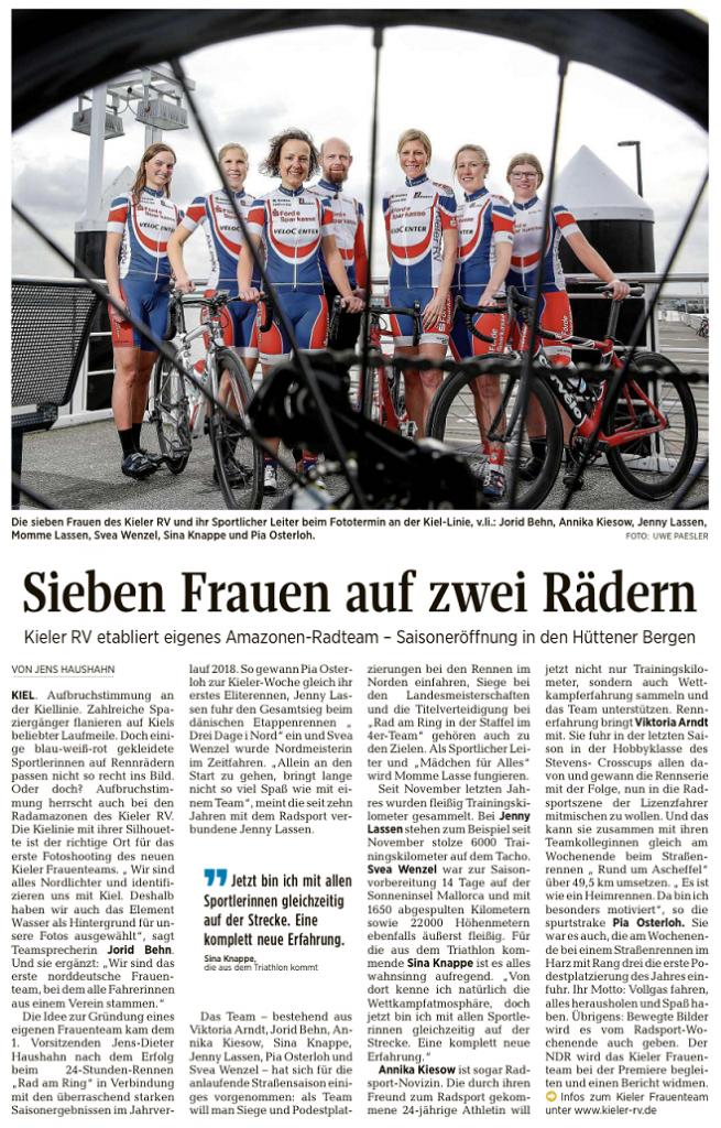 Kieler Nachrichten vom 28.03.2019